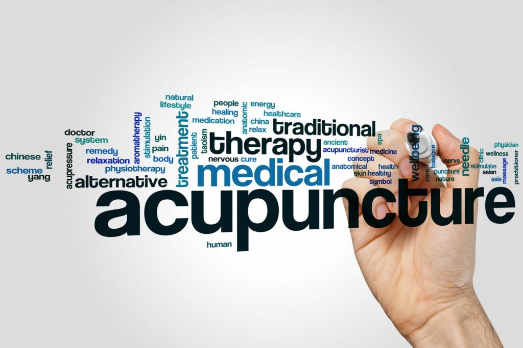 acupuncture word cloud concept - ACSWM Kalamazoo MI