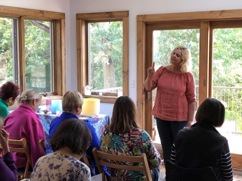 Sue Jones Workshop at Land of Light